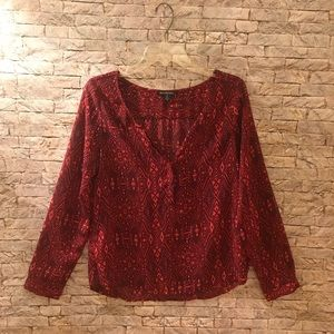 American Eagle sheer blouse ~ Size S